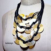 "Украшения handmade. Livemaster - original item Copy of Necklace ""Chain Reaction"". Handmade."