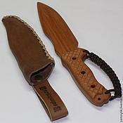 Субкультуры ручной работы. Ярмарка Мастеров - ручная работа Нож детский деревянный Busse Hell Razor. Handmade.