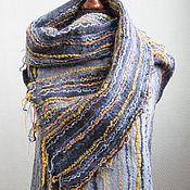 Одежда ручной работы. Ярмарка Мастеров - ручная работа Жилет женский валяный Клеточки-Полосочки. Handmade.