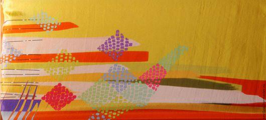 Шитье ручной работы. Ярмарка Мастеров - ручная работа. Купить Натуральный шелк арт.037. Handmade. Комбинированный, ткань