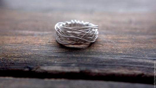 """Кольца ручной работы. Ярмарка Мастеров - ручная работа. Купить Кольцо из серебра 925 пробы """"Форм"""". Handmade."""