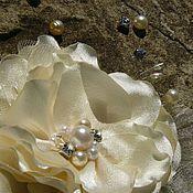 Свадебный салон ручной работы. Ярмарка Мастеров - ручная работа Цветы для свадебной прически невесты,  украшение в прическу. Handmade.