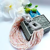 Украшения handmade. Livemaster - original item Bracelet made of Peruvian pink opal