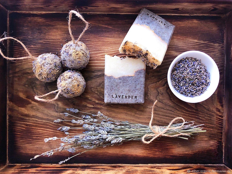 Lavender. Натуральное мыло с пудрой лаванды, Мыло, Омск,  Фото №1