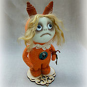 Белочка...та ещё. Стимпанк. Авторская кукла. Белка игрушка.