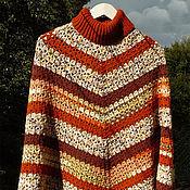 Одежда handmade. Livemaster - original item Poncho crocheted
