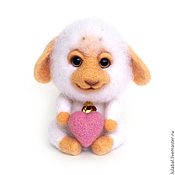Куклы и игрушки ручной работы. Ярмарка Мастеров - ручная работа Барашек Сёма. Handmade.