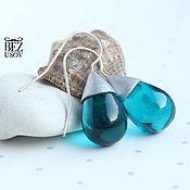 Украшения handmade. Livemaster - original item Earrings Czech glass