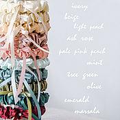 Свадебный салон ручной работы. Ярмарка Мастеров - ручная работа Атласная подвязка невесты, подвязка на свадьбу, для невесты. Handmade.