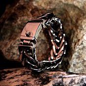 Украшения handmade. Livemaster - original item Men`s bracelet from jewelry steel. Handmade.