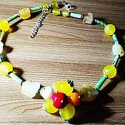 Украшения handmade. Livemaster - original item Radiating heat Beads. Handmade.