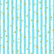Материалы для творчества ручной работы. Ярмарка Мастеров - ручная работа 100% хлопок, Польша премиум, голубые полосы. Handmade.