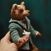 Куклы и игрушки ручной работы. Ярмарка Мастеров - ручная работа Мишка Кавалер. Handmade.