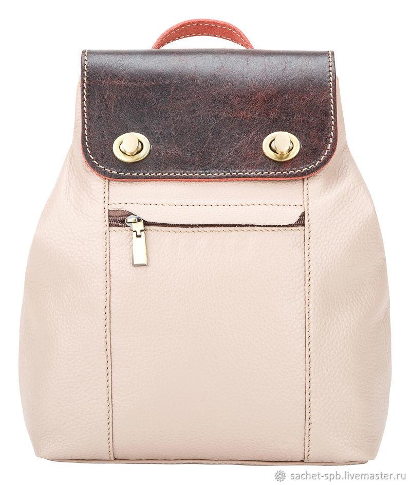 801786630564 Backpacks handmade. Livemaster - handmade. Buy Womens leather backpack  Palermo (dusty rose) ...