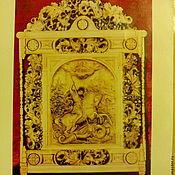 Иконы ручной работы. Ярмарка Мастеров - ручная работа Георгий Победоносец-резьба по дереву. Handmade.