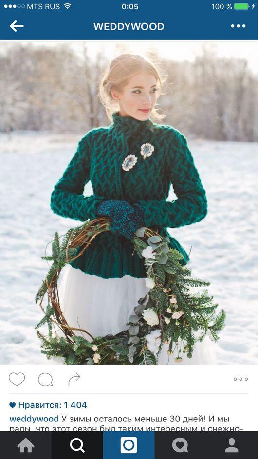 Кофты и свитера ручной работы. Ярмарка Мастеров - ручная работа. Купить Кардиган красивого цвета с баской. Handmade.