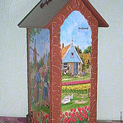 Для дома и интерьера ручной работы. Ярмарка Мастеров - ручная работа Домик  чайный интерьерный Голландия. Handmade.