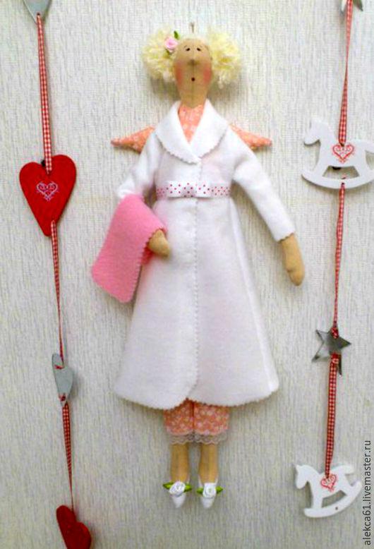 Куклы Тильды ручной работы. Ярмарка Мастеров - ручная работа. Купить Банная фея (кукла Тильда). Handmade. Розовый, розочки