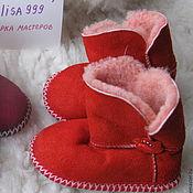 Обувь ручной работы handmade. Livemaster - original item Homemade ugg boots made of sheepskin 21-25 sizes. Handmade.