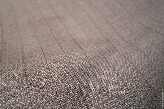 Шитье ручной работы. Ярмарка Мастеров - ручная работа. Купить Ткань костюмная шерсть с лавсаном. Handmade. Серый, ткань для шитья