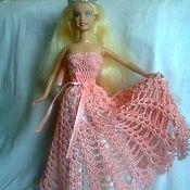 Куклы и игрушки ручной работы. Ярмарка Мастеров - ручная работа Нарядное платье для куклы Барби. Handmade.