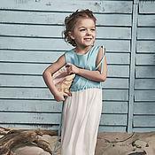 Работы для детей, ручной работы. Ярмарка Мастеров - ручная работа Детское платье. Handmade.