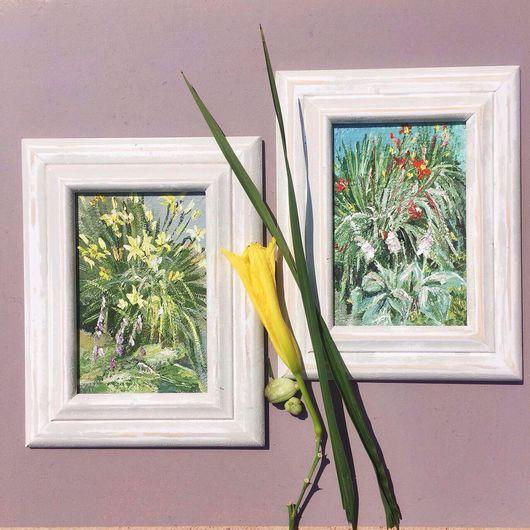 """Картины цветов ручной работы. Ярмарка Мастеров - ручная работа. Купить Картины """"Лилейник"""". Handmade. Живопись, картина, живопись в подарок"""