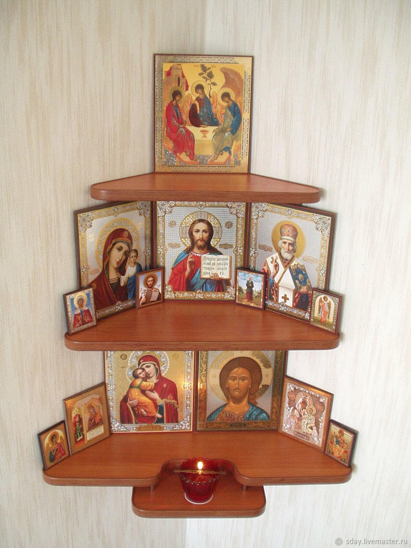 Как сделать иконостас дома своими руками фото 46
