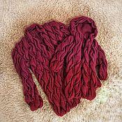 Одежда ручной работы. Ярмарка Мастеров - ручная работа Кардиган в стиле Лало. Handmade.