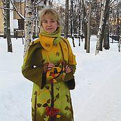 """Одежда ручной работы. Ярмарка Мастеров - ручная работа Пальто   зимнее """"Карельский лес"""". Handmade."""
