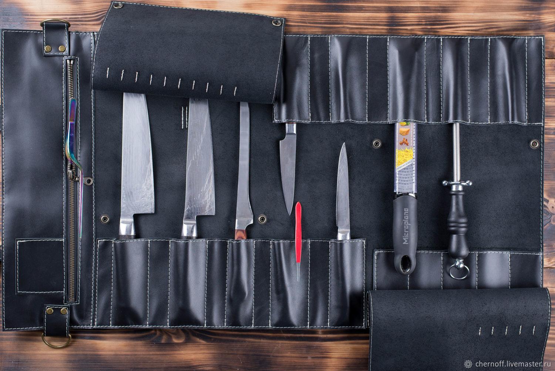 Twisting for 10 knives, Travel bag, Kirov,  Фото №1
