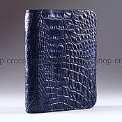 Канцелярские товары handmade. Livemaster - original item Cover for car documents leather crocodile IMA0248VC55. Handmade.