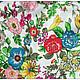 Шитье ручной работы. Ткань натуральный шелк Голландский сад. Ткани, аппликации. Инесса (MMonro). Интернет-магазин Ярмарка Мастеров.