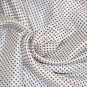 Материалы для творчества handmade. Livemaster - original item Fabric: Silk organza, Italy. Handmade.