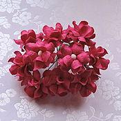 Материалы для творчества ручной работы. Ярмарка Мастеров - ручная работа Лютики ярко-розовые 5 штук. Handmade.