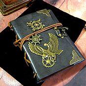 Канцелярские товары handmade. Livemaster - original item Notepad steampunk