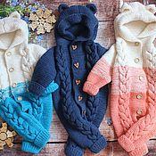 Работы для детей, handmade. Livemaster - original item Knitted children`s jumpsuit