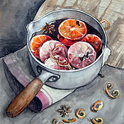 Картины и панно ручной работы. Ярмарка Мастеров - ручная работа Глинтвейн. Handmade.