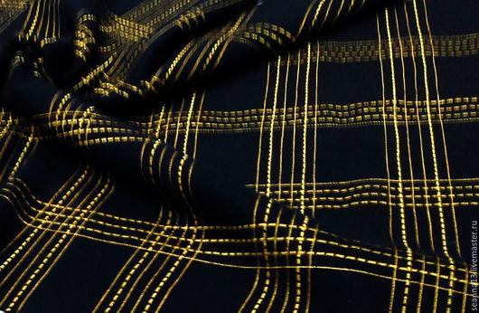 Шитье ручной работы. Ярмарка Мастеров - ручная работа. Купить Потрясающе красивая вышитая на заказ в клетку пальтовая шерсть в любом. Handmade.