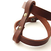 Украшения handmade. Livemaster - original item bracelet made of genuine leather. Handmade.