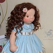 Куклы и игрушки ручной работы. Ярмарка Мастеров - ручная работа Кристина - кукла в вальдорфском стиле. Handmade.