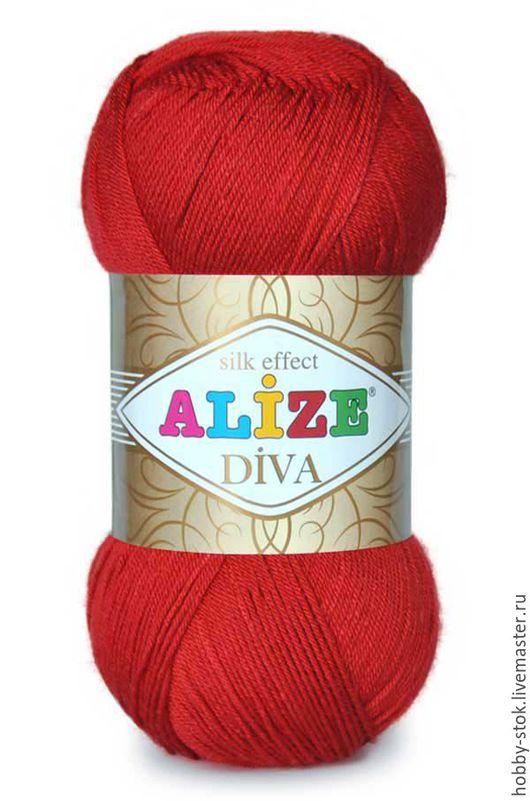 Вязание ручной работы. Ярмарка Мастеров - ручная работа. Купить Пряжа Diva Baby Alize. Handmade. Комбинированный, качественная пряжа