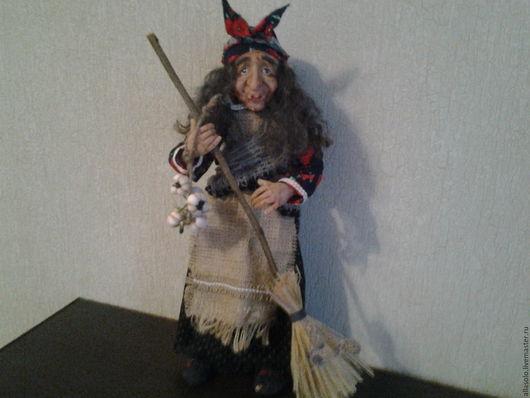Коллекционные куклы ручной работы. Ярмарка Мастеров - ручная работа. Купить Просто Баба Яга. Handmade. Комбинированный