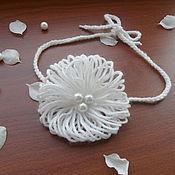 """Работы для детей, ручной работы. Ярмарка Мастеров - ручная работа повязка """" воздушная"""". Handmade."""