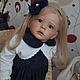 Куклы-младенцы и reborn ручной работы. Заказать Анюта. Наталья Кудрявцева (bikova). Ярмарка Мастеров. Реборн, натуральные волосы