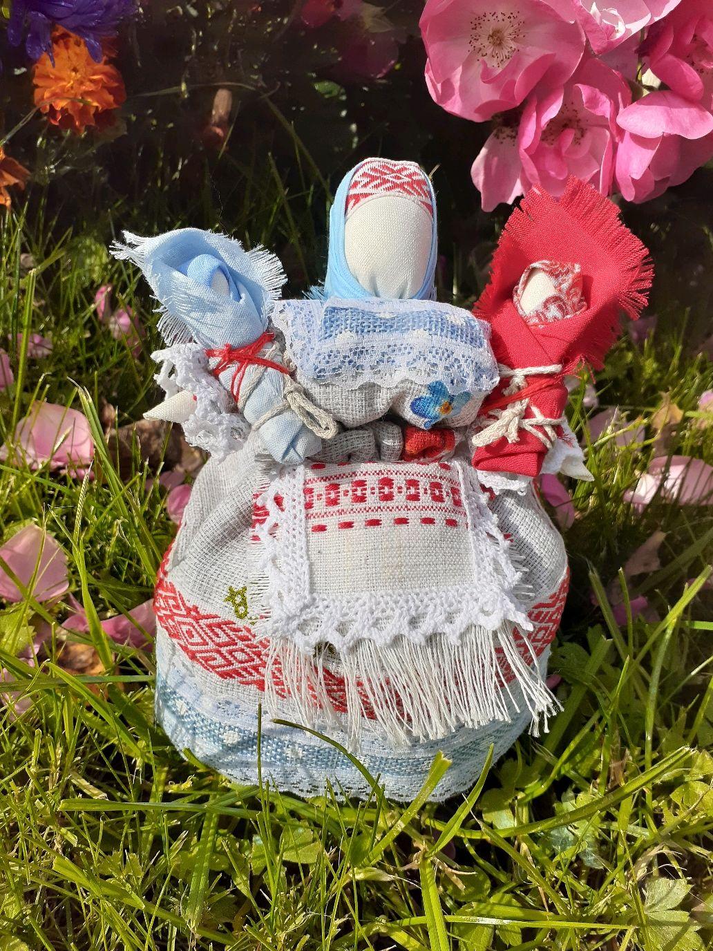 Двойная прибыль -Славянская берегиня, Народная кукла, Калуга,  Фото №1