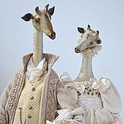 Куклы и игрушки handmade. Livemaster - original item Reserve. Giraffes. a series of