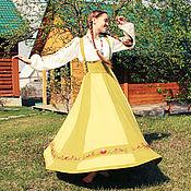 """Одежда ручной работы. Ярмарка Мастеров - ручная работа """"Северная весна"""" сарафан. Handmade."""