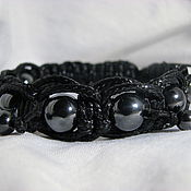 Украшения handmade. Livemaster - original item Bracelet with hematite Chain. Handmade.