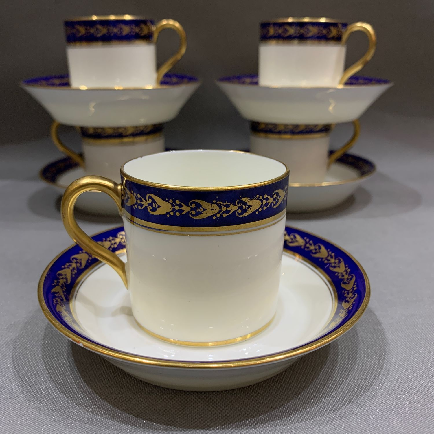 Coffee pair (there are 5 PCs), Couldon, England, 1905-1920 (4586), Vintage mugs, Tyumen,  Фото №1